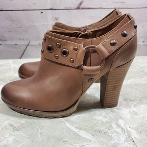 Sofft NWOB Leather Winona Ankle Booties Sz 7M